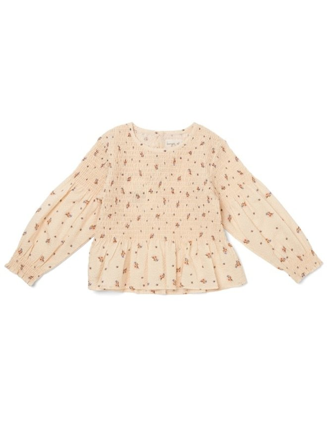 Barca smock blouse - Flower bouquet