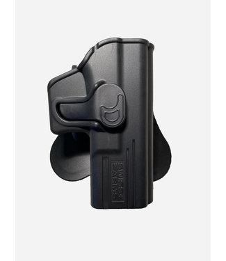 Cybergun Swiss Arms Polymer Holster Glock 17