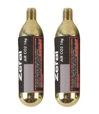 Zefal Zefal I CO2 Cartridges I 16G CO2  2er Blister