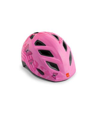 MET MET I Helmet I Genio pink Butterfly 52-57cm