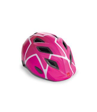 MET MET I Helmet I Genio pink star 52-57cm