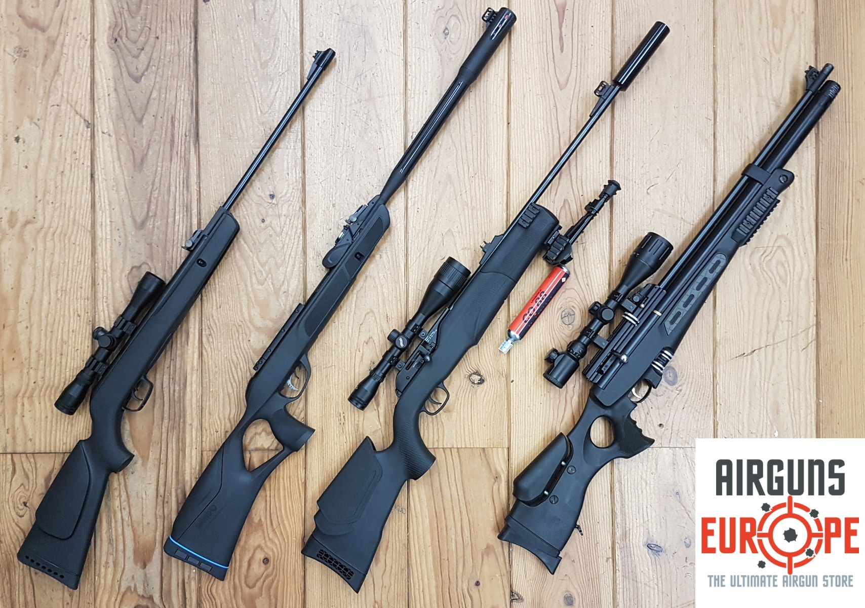 Different types of airguns explained
