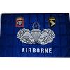 Vlag Airborne Blauw