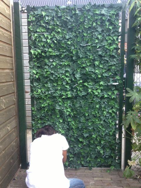 Gipea Easy To Fix Optimal Visibility Protection For Gate & Fence Hoe lost Gipea de inkijk op van uw moderne tuinpoort