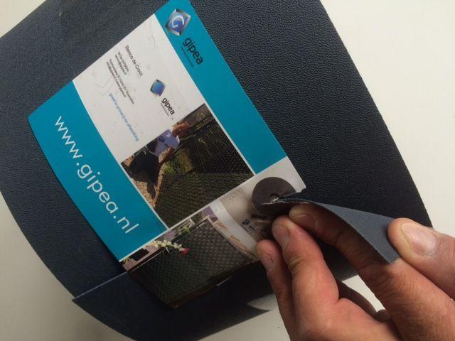 Gipea Easy To Fix Optimal Visibility Protection For Gate & Fence 19 cm Ekoband per meter  geleverd op rol.  5 RAL kkleuren