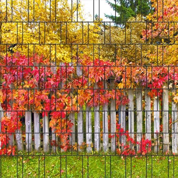 3-d band herfst blad
