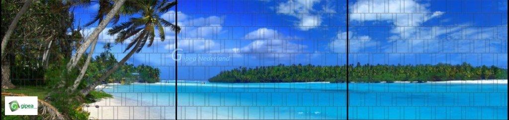 Gipea Panorama vlechtband 190 mm XXL Beach