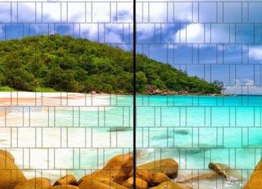 Panorama XL voor 2 hek-elementen