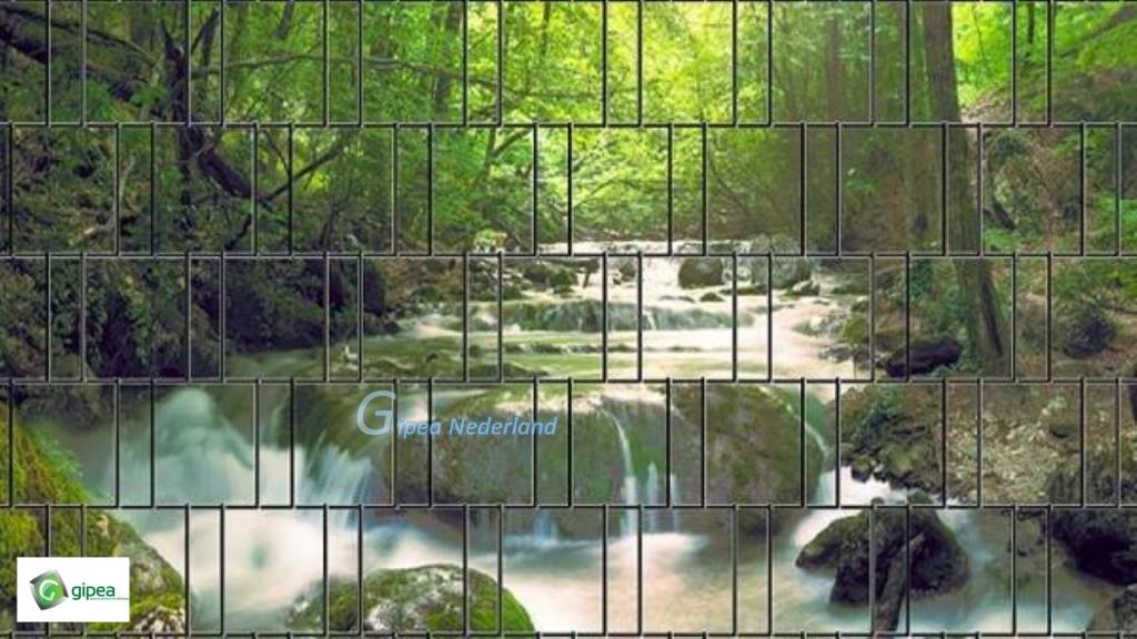 Gipea Easy To Fix Optimal Visibility Protection For Gate & Fence Gipea Easy Fix ( PANORAMA WATERVAL)