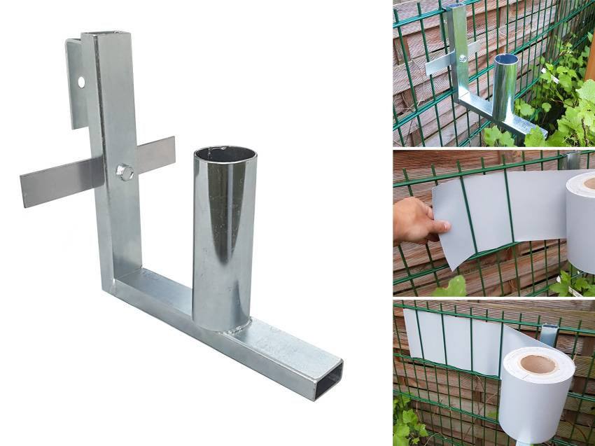 Gipea Easy To Fix Optimal Visibility Protection For Gate & Fence Gipea Rol-houder voor PVC Band 190 mm
