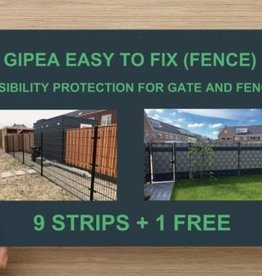 Gipea Easy to fix (FENCE) + 20 montageklemmen