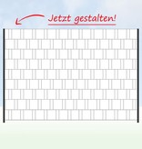 Gipea Easy To Fix Optimal Visibility Protection For Gate & Fence Gipea Easy Fix ( reclameband ) 1 paneel