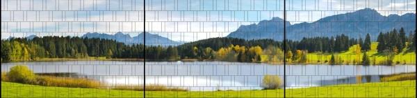 Gipea Gipea Easy Fix ( PANORAMA) 3 panelen  / Bavaria