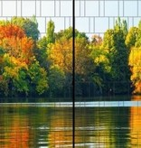 Gipea Easy To Fix Optimal Visibility Protection For Gate & Fence Gipea Easy Fix ( PANORAMA ) 2 panelen Bos herfst