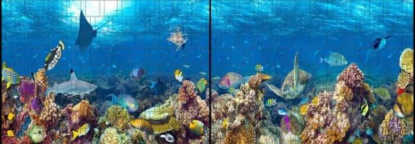 Gipea Gipea Easy Fix ( PANORAMA ) 2 panelen Fish