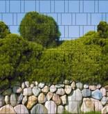 Gipea Easy Fix ( PANORAMA ) 1 paneel Stenen Muur (RONDE STEEN)