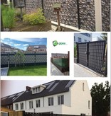Gipea Easy To Fix Optimal Visibility Protection For Gate & Fence BASIC LINE GRIJS 12 M.