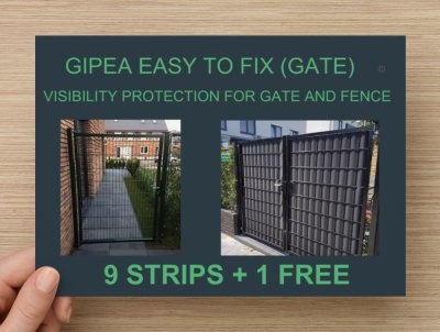 Gipea Easy To Fix Optimal Visibility Protection For Gate & Fence Gipea Easy to fix Vlechtband (GATE 135 )+ 20 montageklemmen - Copy