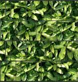 Tuinpoort dicht met 3-d band 155 plus 20 klemmen Bladmotief - Copy