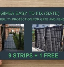 Gipea Easy to fix (GATE)  85 cm + 20 montageklemmen