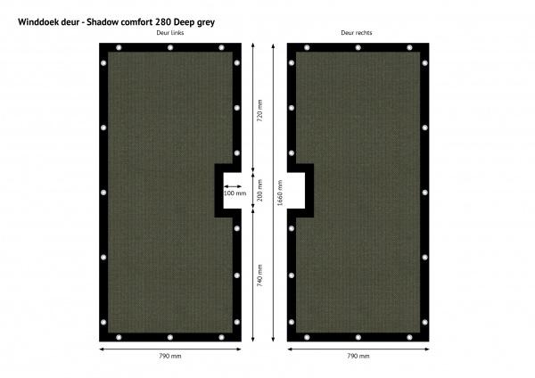 Gipea Easy To Fix Optimal Visibility Protection For Gate & Fence Maatwerk voor uw poorten en balkons  tot  (80 %)