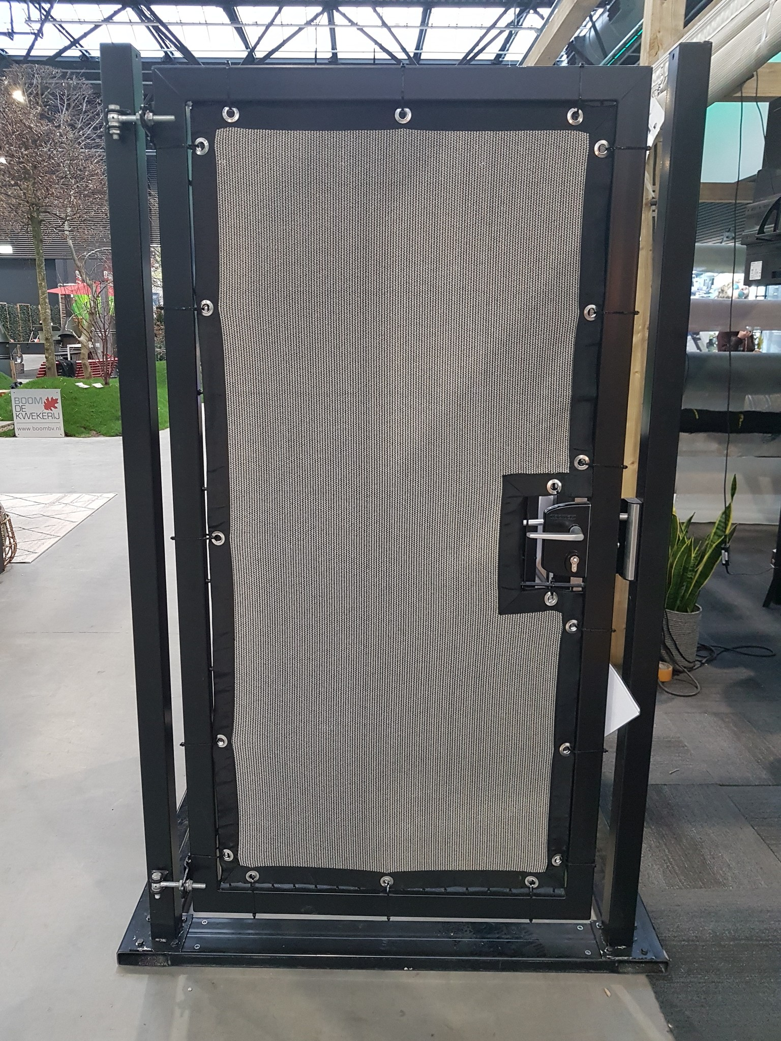 Gipea Easy To Fix Optimal Visibility Protection For Gate & Fence 100 Kabelbinder / bundelband staal RVS 266 x 4,6 mm.