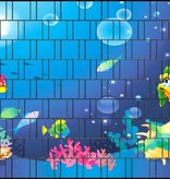 3-D band vissen onder water
