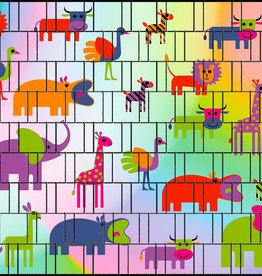 3-D band dierentuin bont