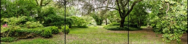 Gipea Easy To Fix Optimal Visibility Protection For Gate & Fence Gipea Easy Fix ( PANORAMA)  PARK LANDSCHAP 3-P