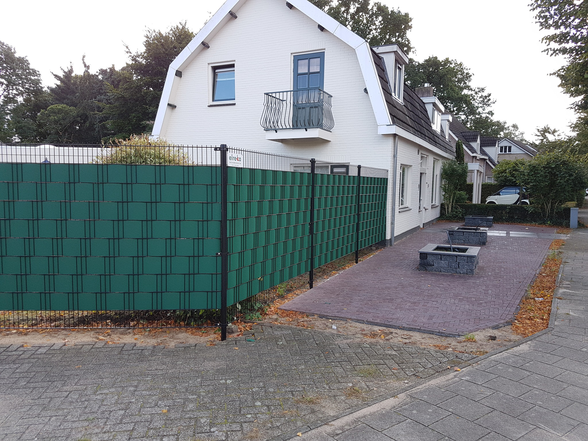 Gipea Easy To Fix Optimal Visibility Protection For Gate & Fence Gipea Easy to fix (GATE) 115 cm + 20 montageklemmen