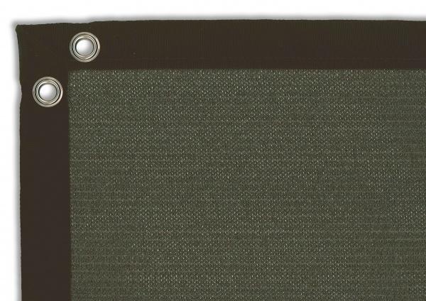 Gipea Easy To Fix Optimal Visibility Protection For Gate & Fence Gipea Comfort Fix Balkondoek 0,80x5,00 meter, RVS zeilogen om de 50 cm