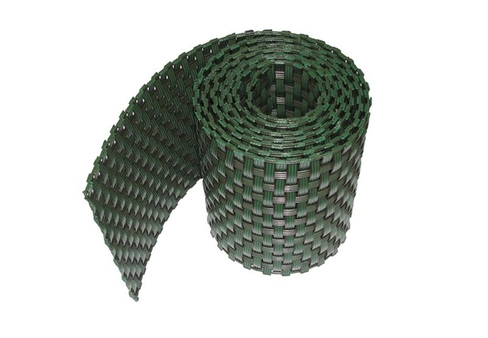 Gipea Easy To Fix Optimal Visibility Protection For Gate & Fence Gipea Rotan Stripe   Op rol geleverd 255 cm  x 19 cm