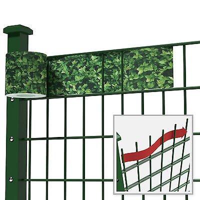 Gipea Easy To Fix Optimal Visibility Protection For Gate & Fence Montage klemmen 19 cm.  20 stuks licht grijs