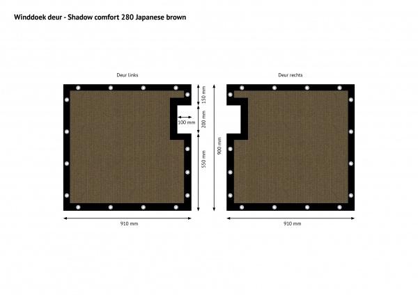 Gipea Easy To Fix Optimal Visibility Protection For Gate & Fence Maatwerk voor uw poorten en balkons.