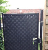 Gipea Easy To Fix Optimal Visibility Protection For Gate & Fence Nieuw  nu verkrijgbaar 05-2021 Ekoband Slim Fit Ral 9005 zwart  4.4 cm