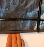 Gipea Easy To Fix Optimal Visibility Protection For Gate & Fence Montage klemmen 19 cm.  20 stuks  Antraciet Grijs