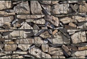 Gipea Gipea Design Band: Zichtbescherming Tuin, nu schutting zicht dicht met Stone Provence !