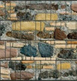 Gipea Desing Band: Zichtbescherming Tuin, nu schutting zicht dicht met Stone Color Mix !