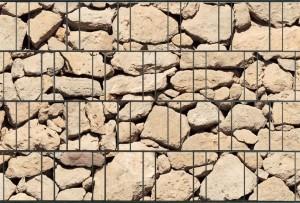 Gipea Design Band: Zichtbescherming Tuin, nu schutting zicht dicht met stone Ibiza