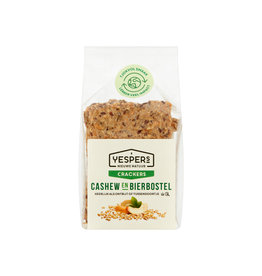 Yespers Crackers Cashew & Bierbostel 200g
