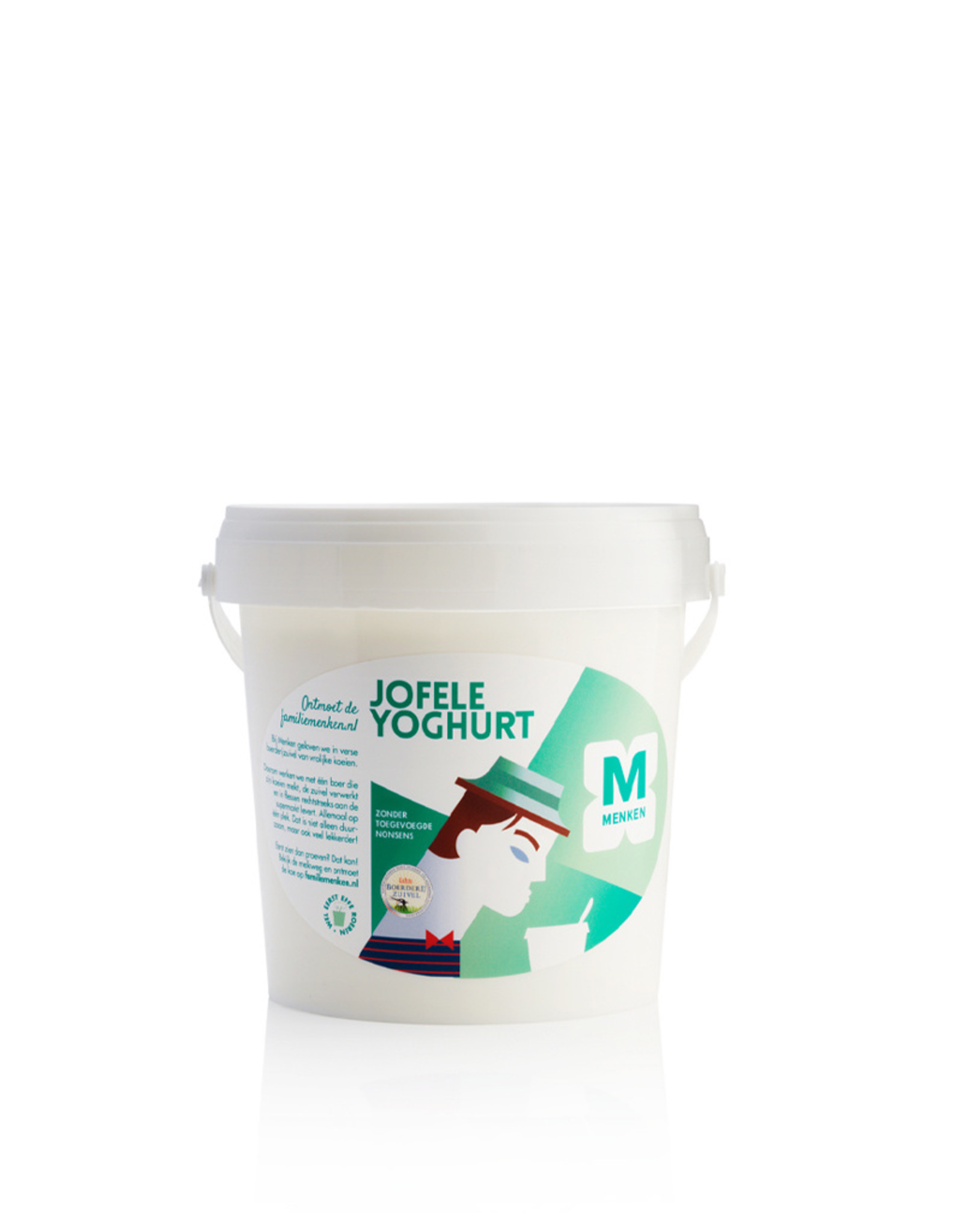 Menken Jofele Yoghurt - emmer