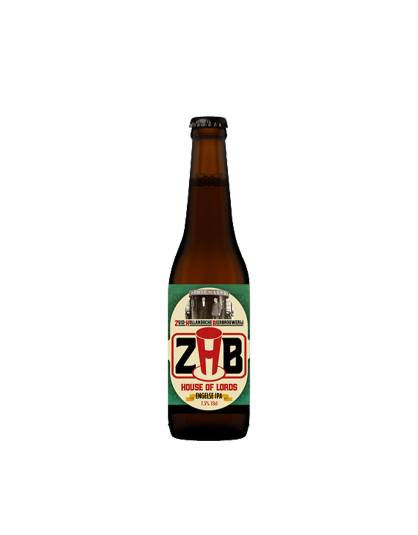 Zuid-Hollandsche Bierbrouwerij ZHB - House of Lords
