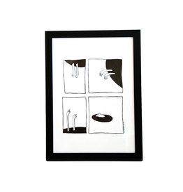 Alice Mulder Black Hole - Riso Print A4