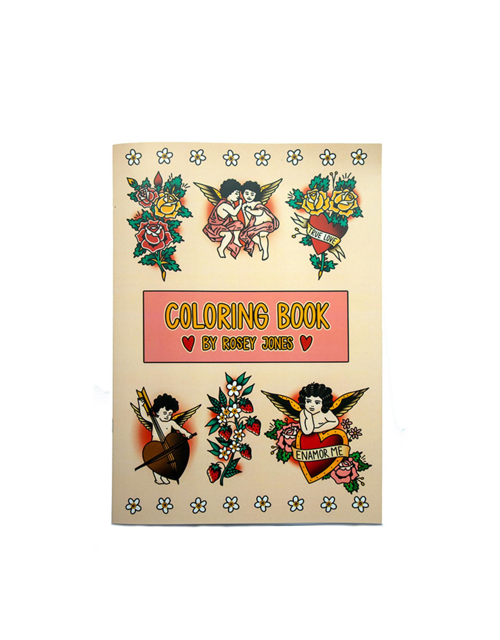 Rosey Jones Rosey Jones - Kleurboek