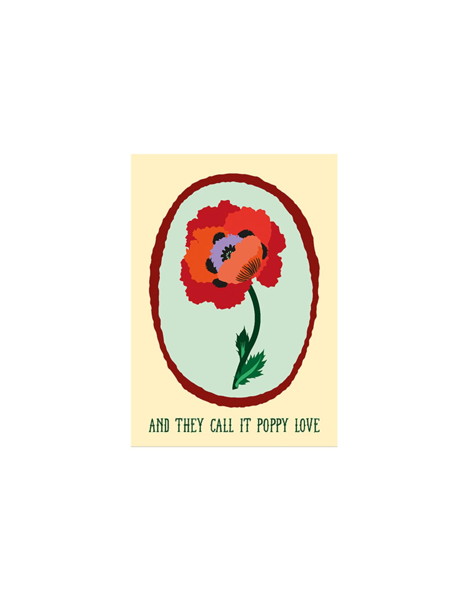 Haagse Honing Poppy Love Kaart - Haags Zaad
