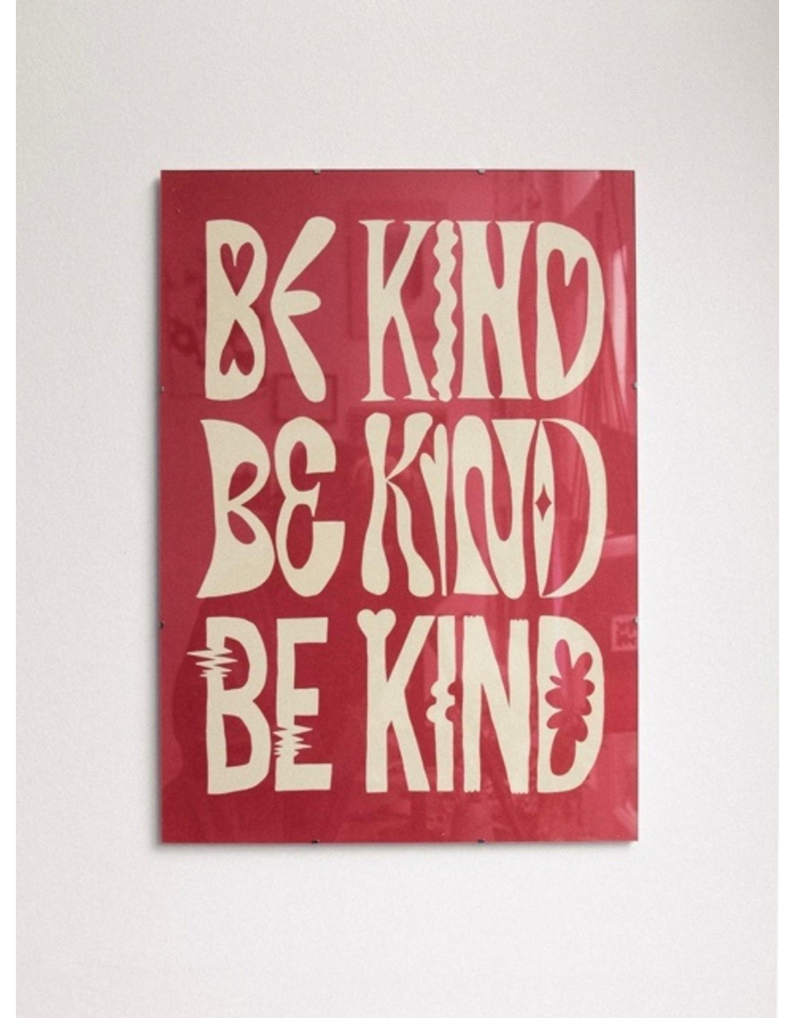 Glitterstudio Glitterstudio - Be Kind, print A2