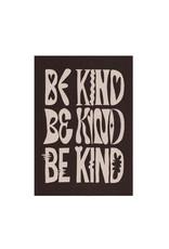 Glitterstudio Glitterstudio - Be Kind brown, print A4