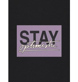 Glitterstudio Stay Optimistic - Postcard A6