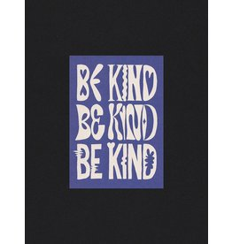 Glitterstudio Be Kind - Blue - Postcard A6