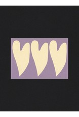 Glitterstudio Glitterstudio - Hearts, Postcard A6